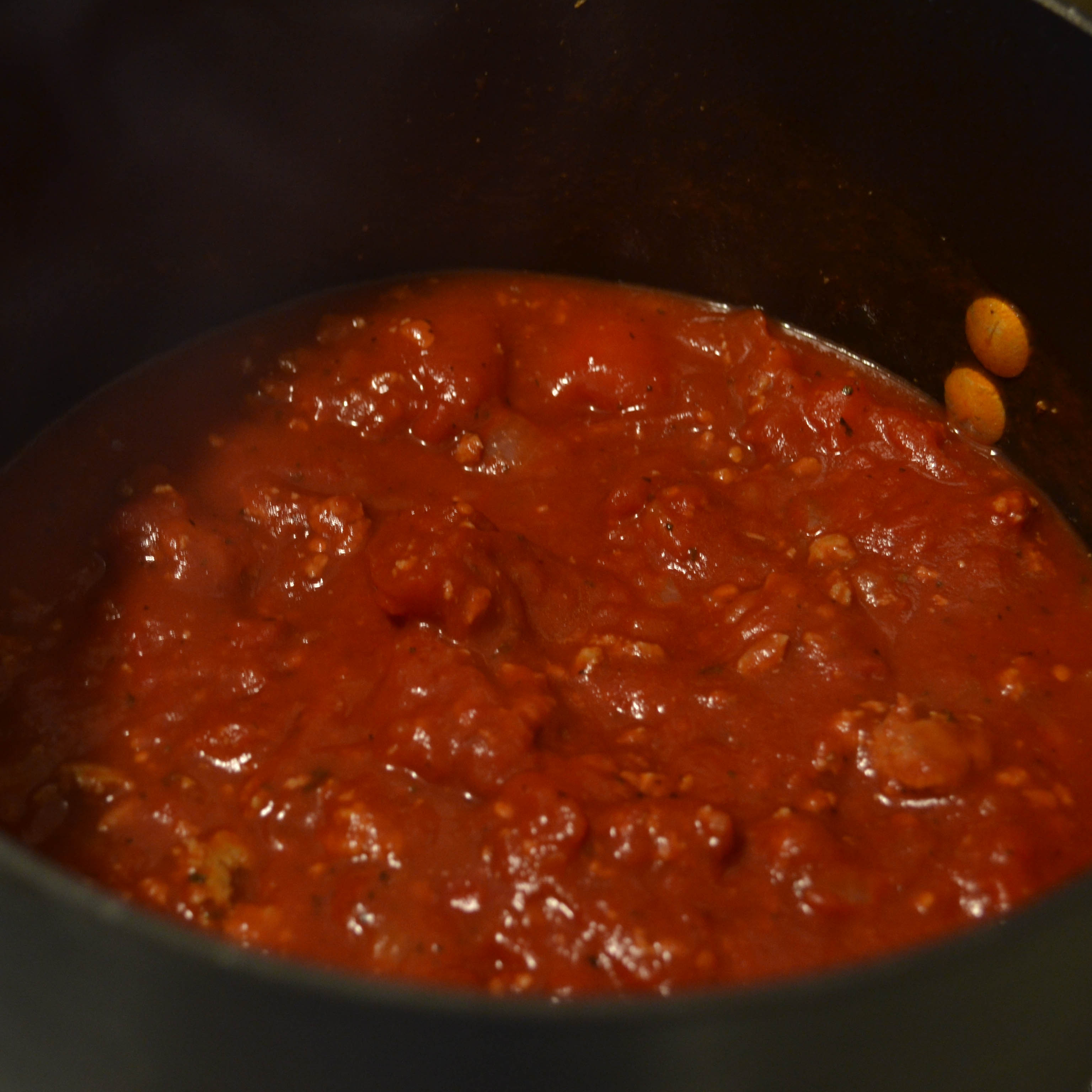 Homemade spaghetti sauce is the ultimate in comfort foods - Teaspoon of Nose