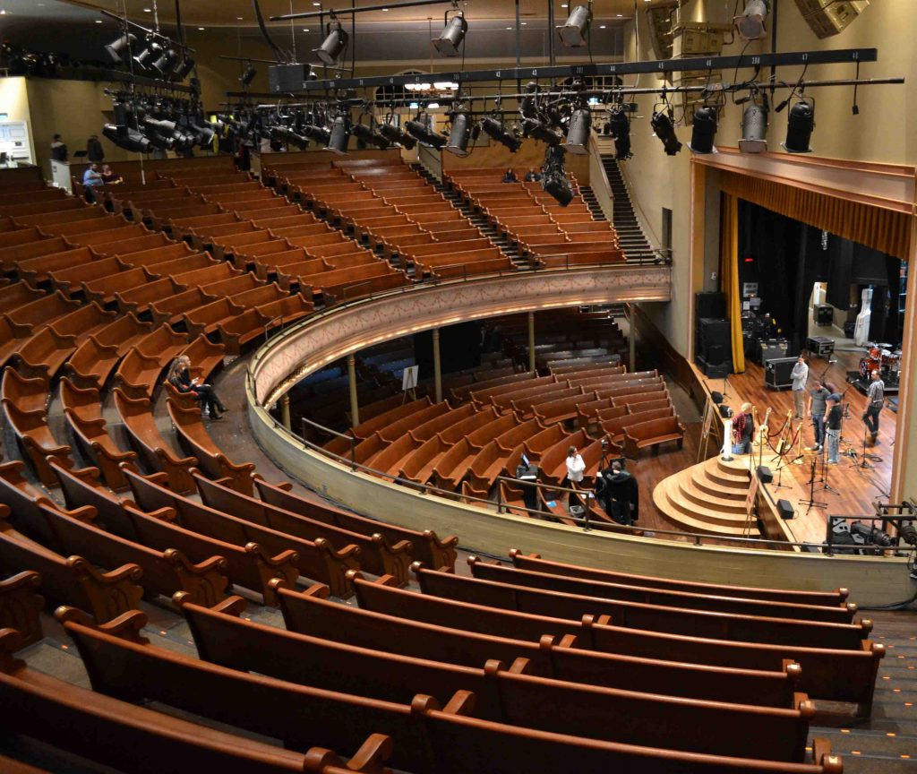 Exploring Nashville: Ryman Auditorium, original home to the Grand Ole Opry