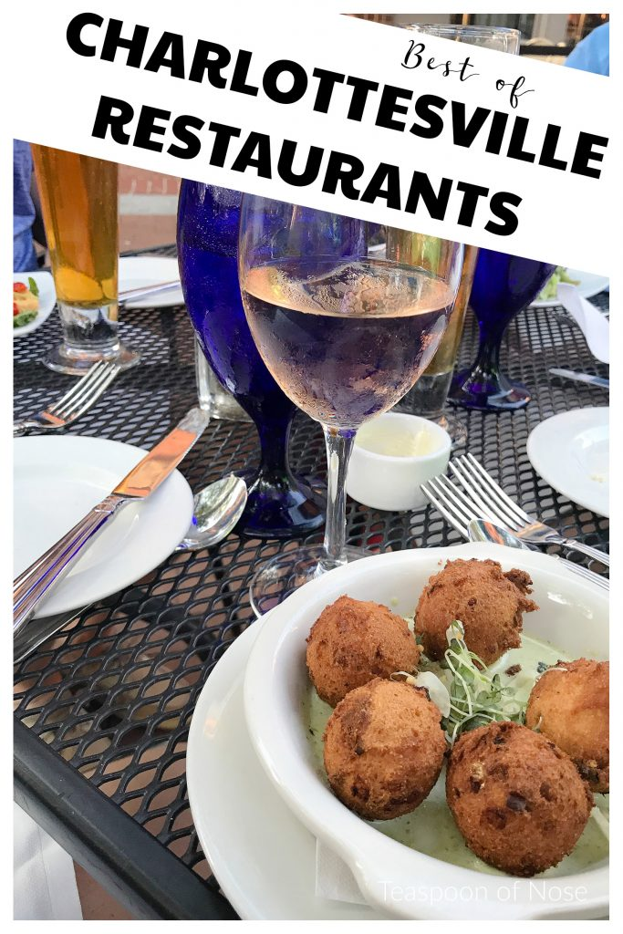 Looking for some great Charlottesville restaurants? I've got a bunch to recommend for any budget!