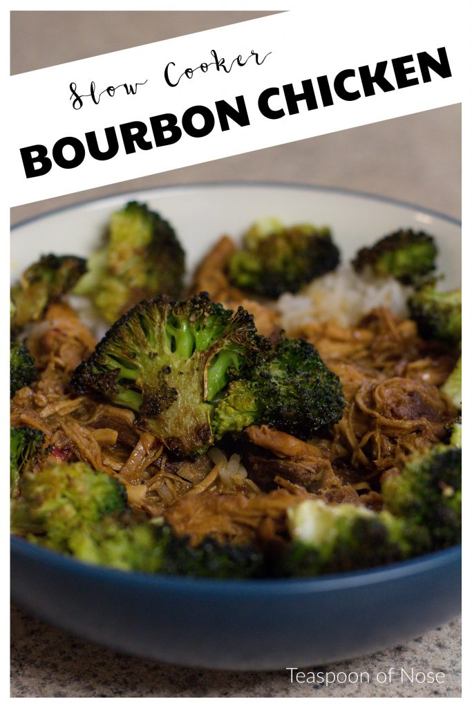 Bourbon Chicken, in a slow cooker? Yes please! It's so good!