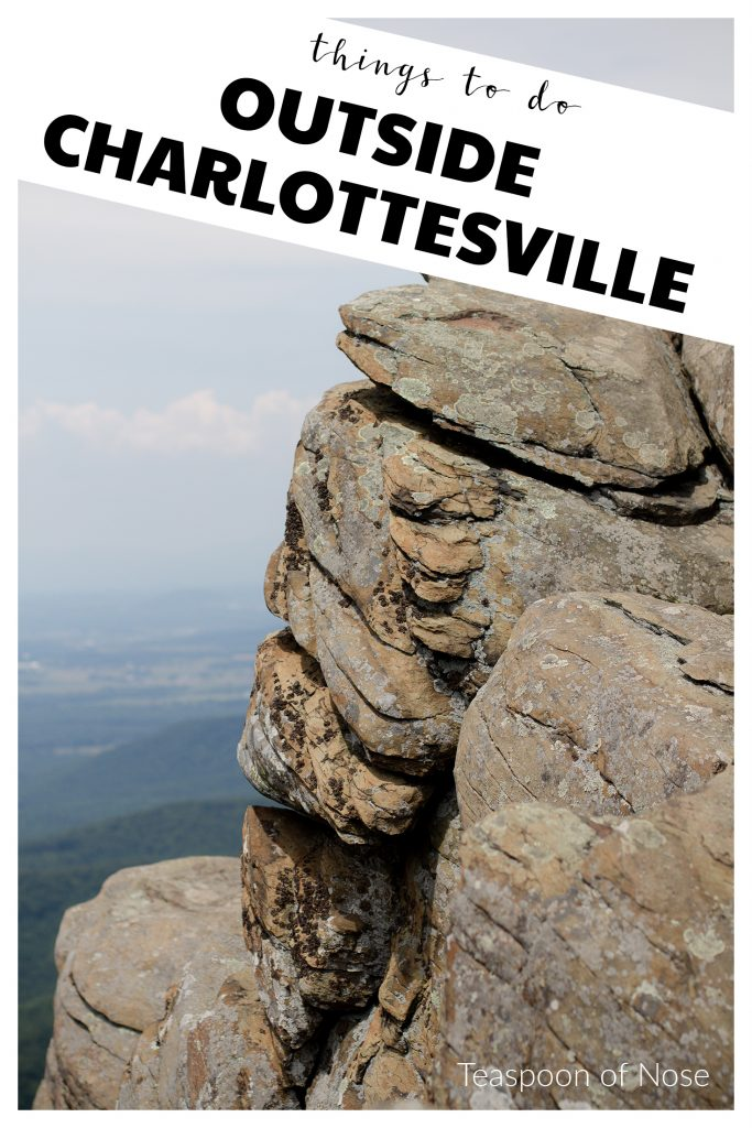 Some of the best things about Charlottesville lie right outside! Here are my favorite hiking and winery spots in the area!