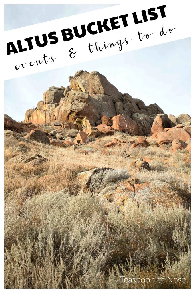 Looking for things to do in Altus, Oklahoma? Try this Altus bucket list! | Teaspoon of Nose