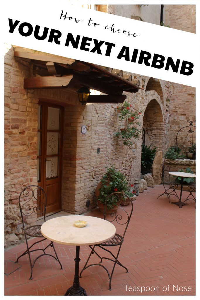 Planning your next vacation? Here's how to pick the perfect Airbnb! | Teaspoon of Nose