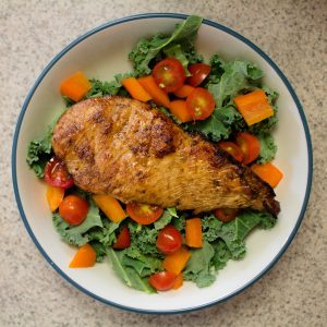 This marinated chicken is seriously one of the best chicken recipes I've ever had!   Teaspoon of Nose