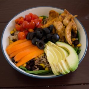 These Mexican grain bowls are the perfect meal prep option to feed you delicious and healthy lunches all week long!   Teaspoon of Nose