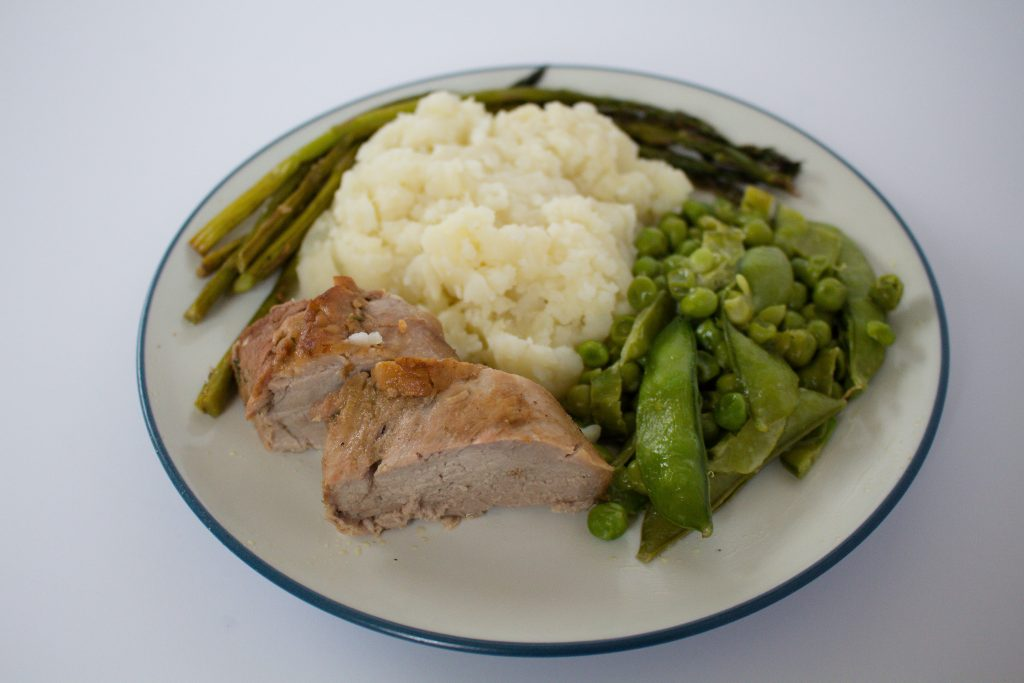 This pork tenderloin recipe is as simple as marinate, brown, and bake! | Teaspoon of Nose