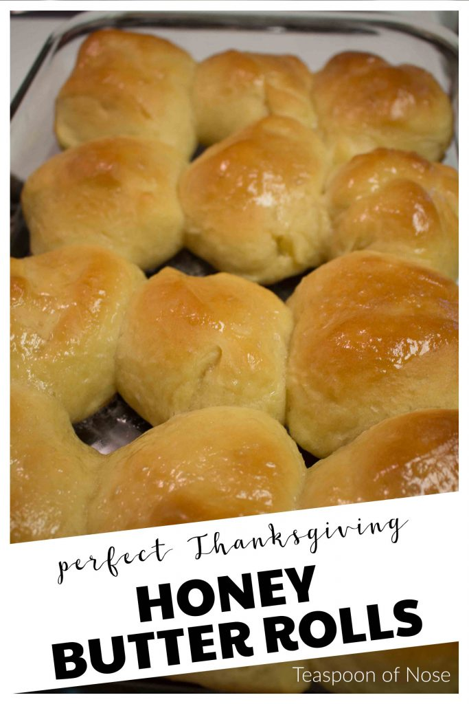 Honey butter dinner rolls - what more could you want? | Teaspoon of Nose