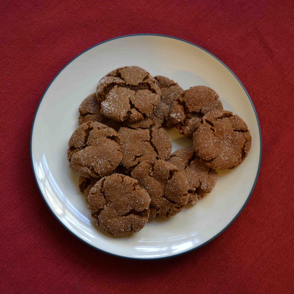Molasses Sugar Cookies are perfect little bites of heaven!   Teaspoon of Nose