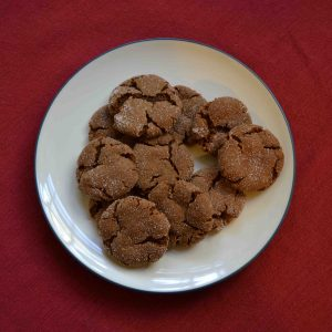Molasses Sugar Cookies are perfect little bites of heaven! | Teaspoon of Nose