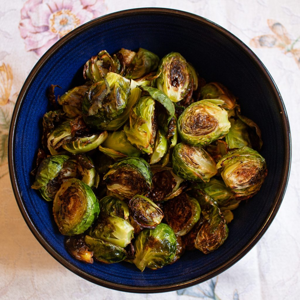 These balsamic brussels sprouts are the best way you've ever had brussels sprouts, I guarantee it! | Teaspoon of Nose