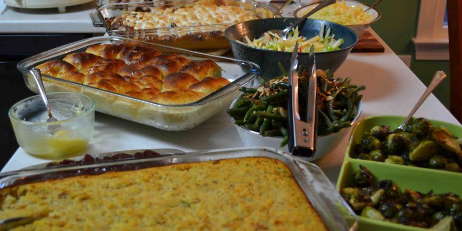 Thanksgiving feasting!