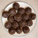 Chocolate chip cupcakes with dark chocolate frosting will satisfy any chocolate craving!