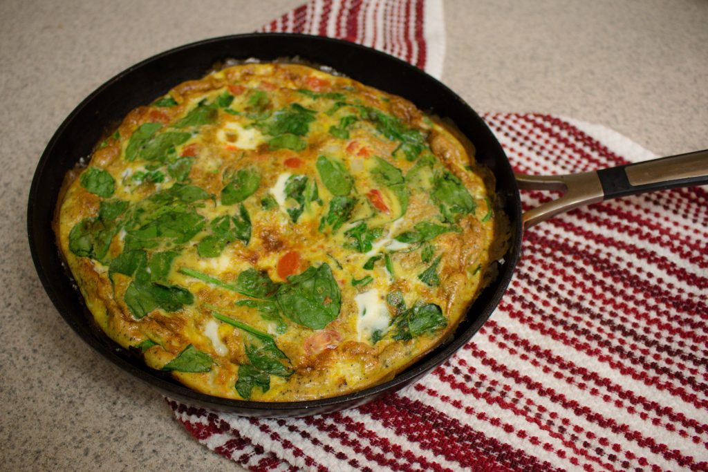 This quick and easy frittata is an effortless breakfast (or dinner!) option that's sure to impress with minimal effort on your part!   Teaspoon of Nose