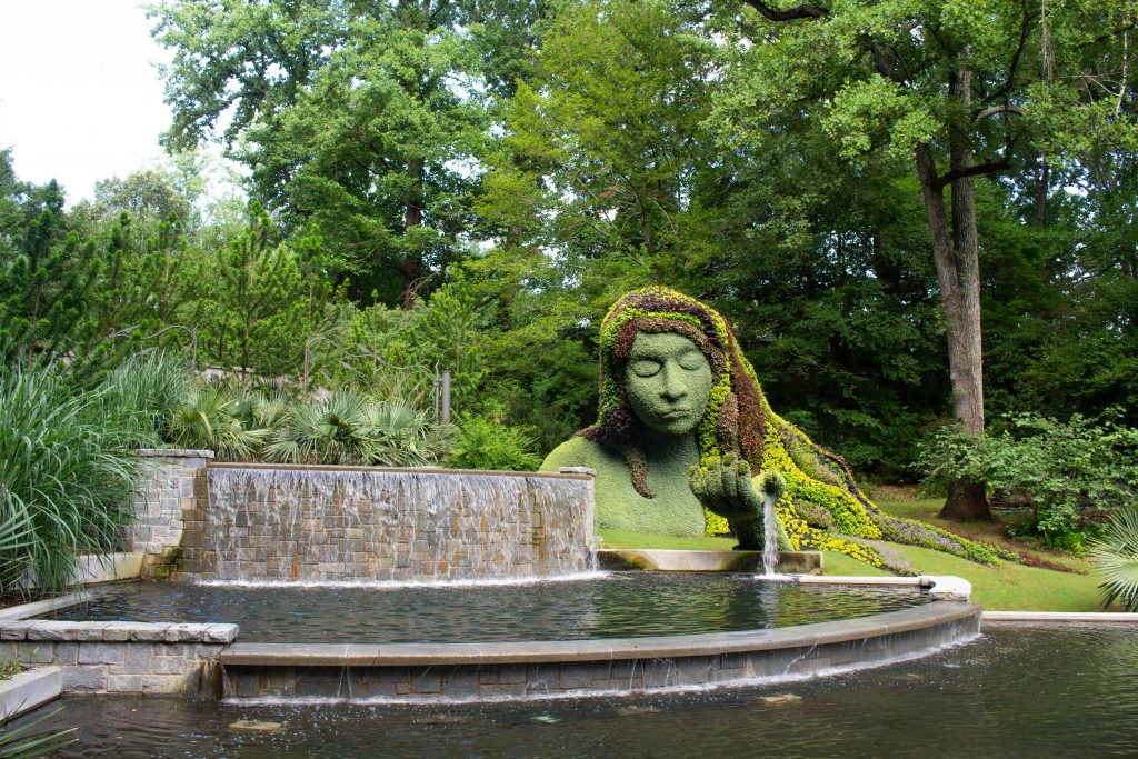 The Atlanta Botanical Garden is one of my new favorite places to get outside in Atlanta! | Teaspoon of Nose