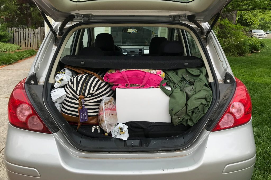 Need to pack for six months in a reasonable amount of space? Use this free packing list!   Teaspoon of Nose