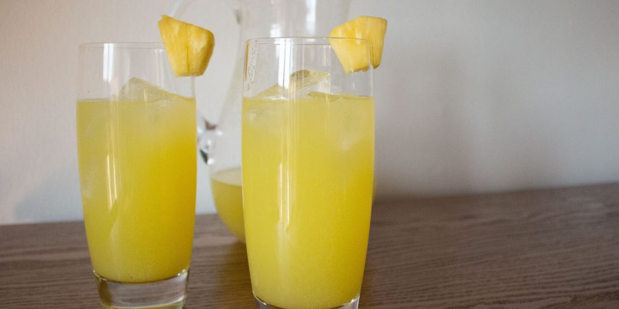 Pineappleade is the ultimate summer sip! Light and refreshing, sweet without being sugary, it's perfect for sitting on the porch or hosting a bbq!