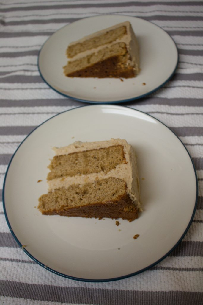 Spice cake is a perfect hygge cake, perfect for the long days of winter while we wait for spring! Topped with cinnamon cream cheese frosting, it's the perfect winter treat! Spice cake is a perfect hygge cake, perfect for the long days of winter while we wait for spring! Topped with cinnamon cream cheese frosting, it's the perfect winter treat!