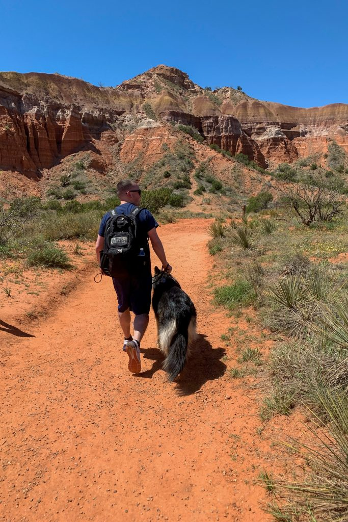 """Once famously called """"the best kept secret in Texas,"""" Palo Duro Canyon State Park makes a perfect hiking trip destination!"""