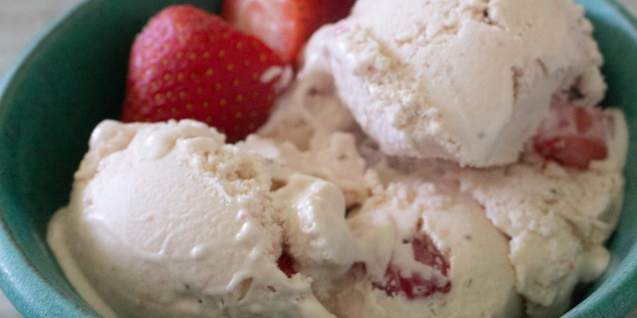 With the perfect balance of strawberries and cream, homemade strawberry ice cream is the perfect taste of summer!