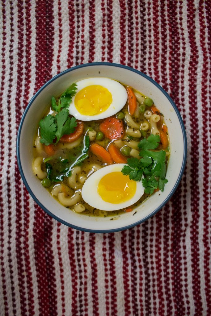 Weeknight noodle soup makes the perfect easy dinner option when you don't know what to cook! Weeknight noodle soup makes the perfect easy dinner option when you don't know what to cook!