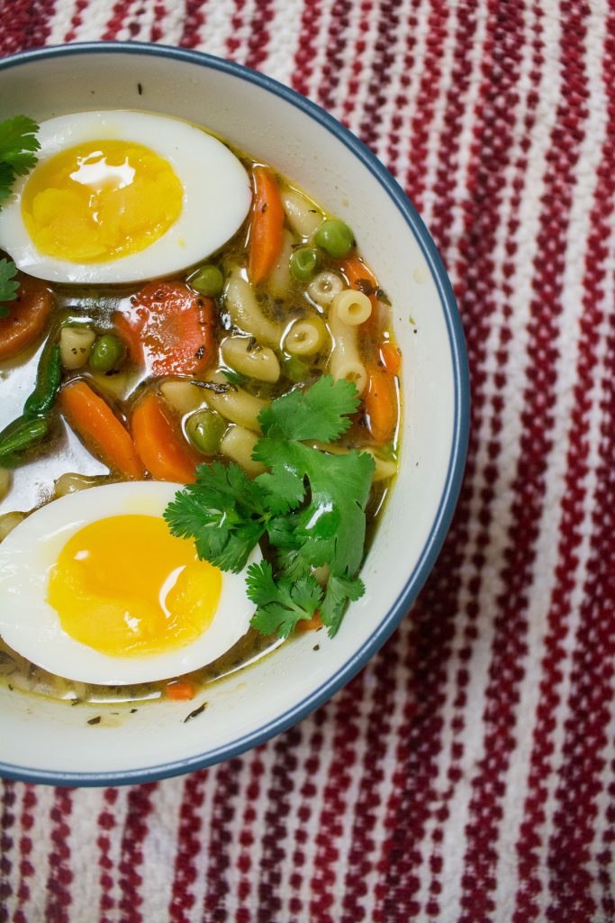 Weeknight noodle soup makes the perfect easy dinner option when you don't know what to cook!