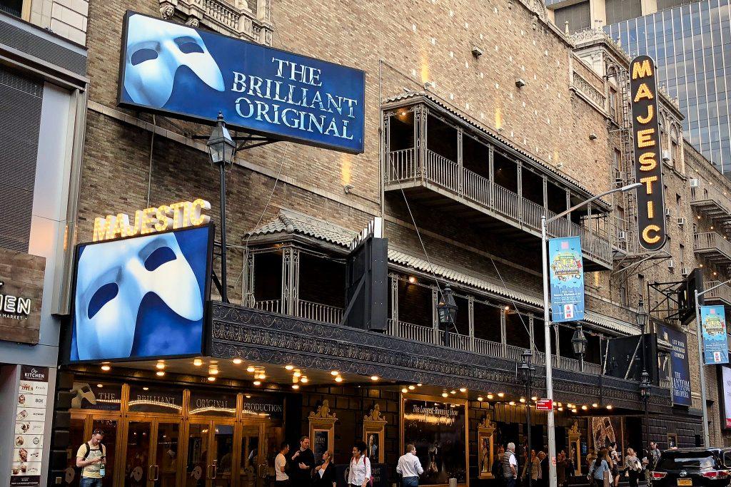 Phantom of the Opera on Broadway