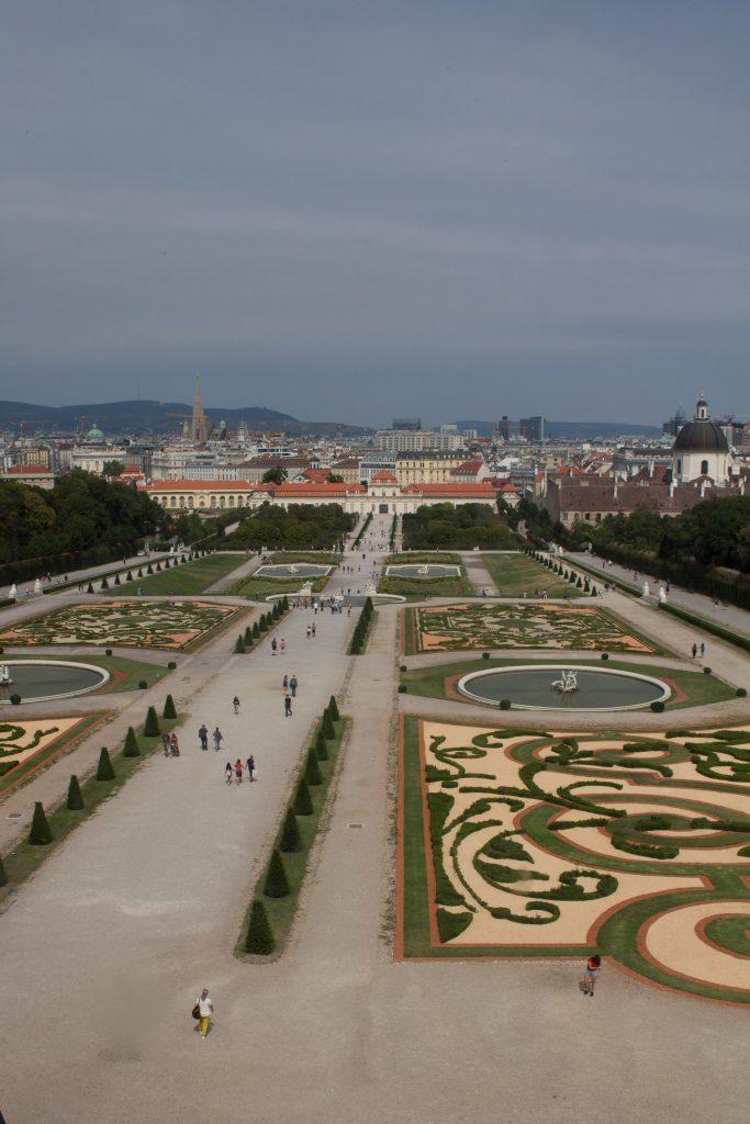 Belvedere Palace gardens