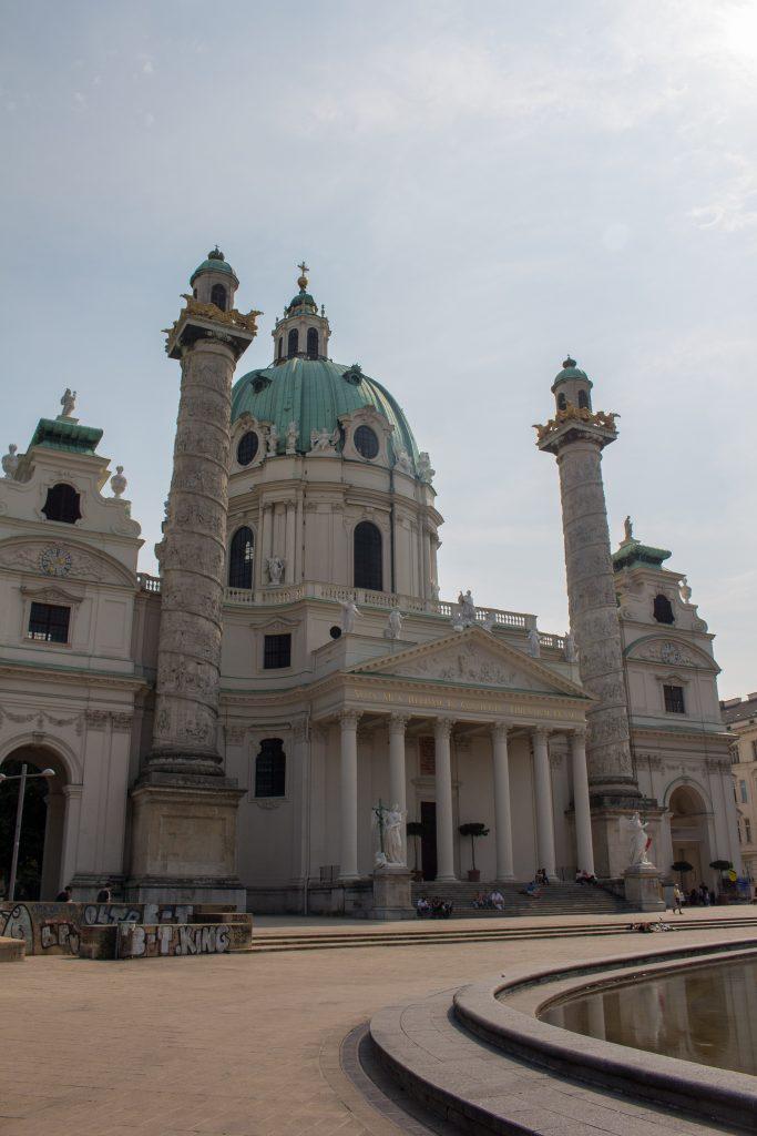 day in vienna church