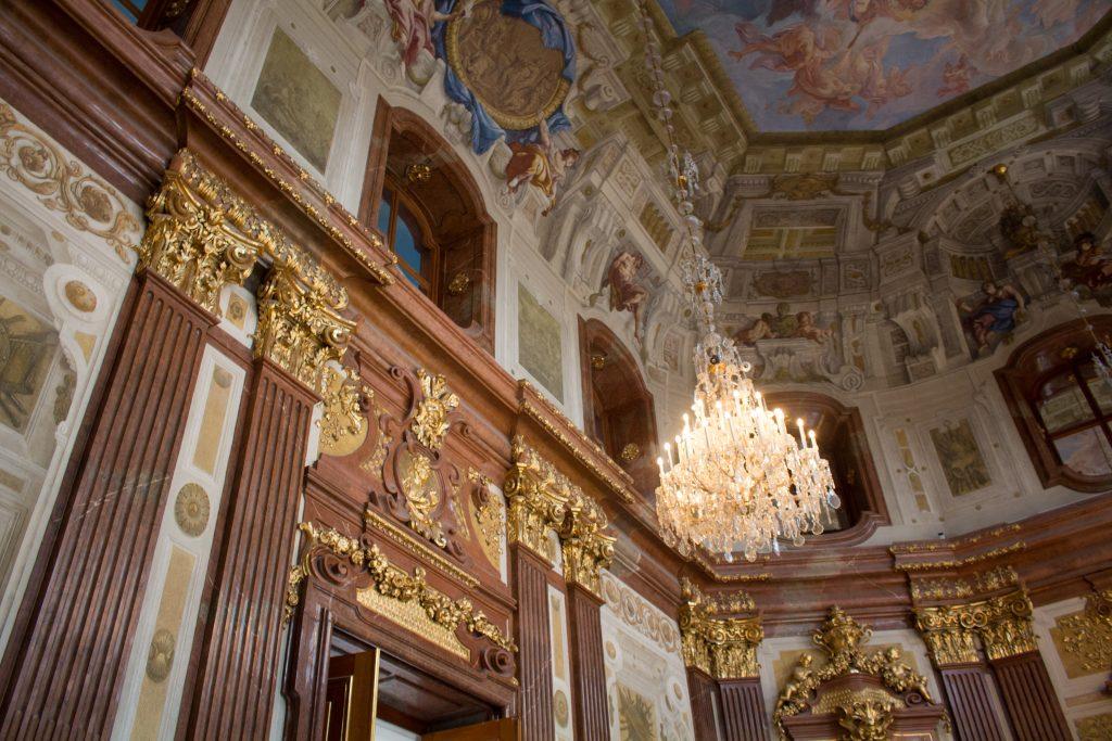 Belvedere palace interior Vienna