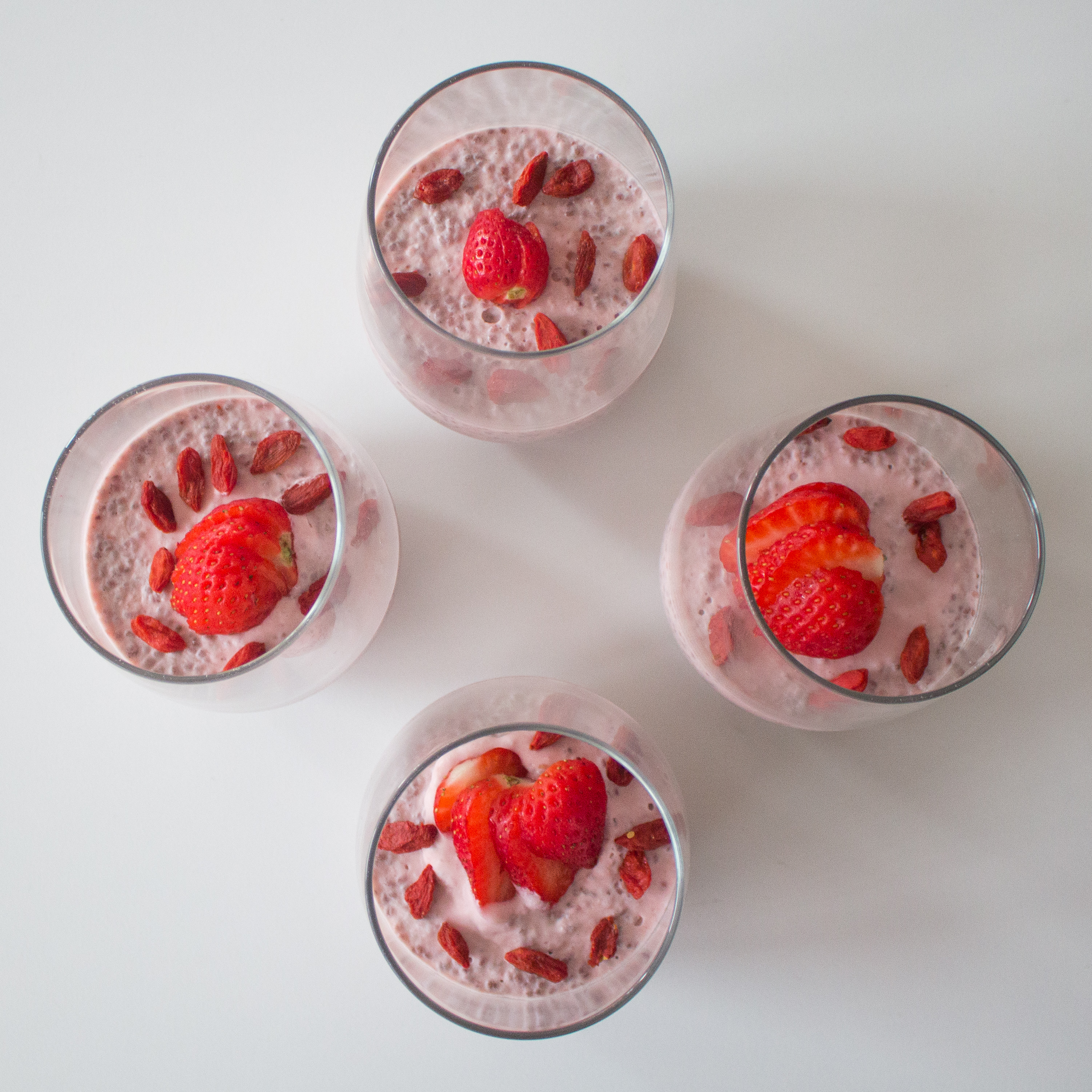 Berry chia seed pudding is the perfect healthy dessert, breakfast or snack!