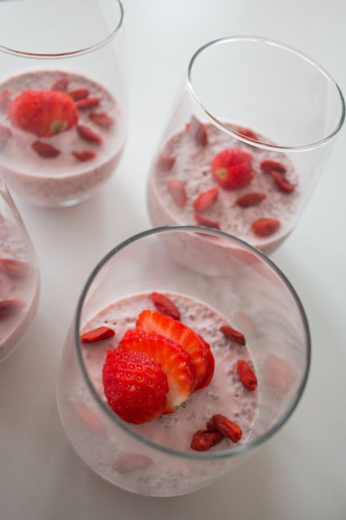 Berry chia seed pudding will be your next favorite breakfast, snack or healthy dessert!