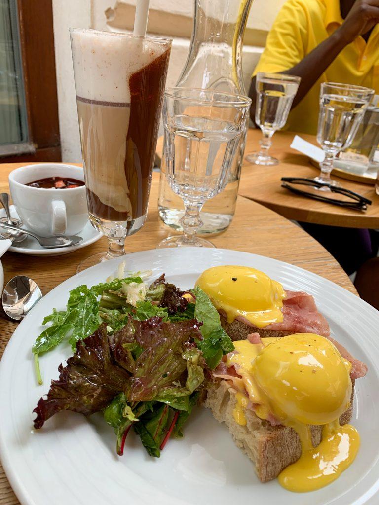 Bratislava breakfast
