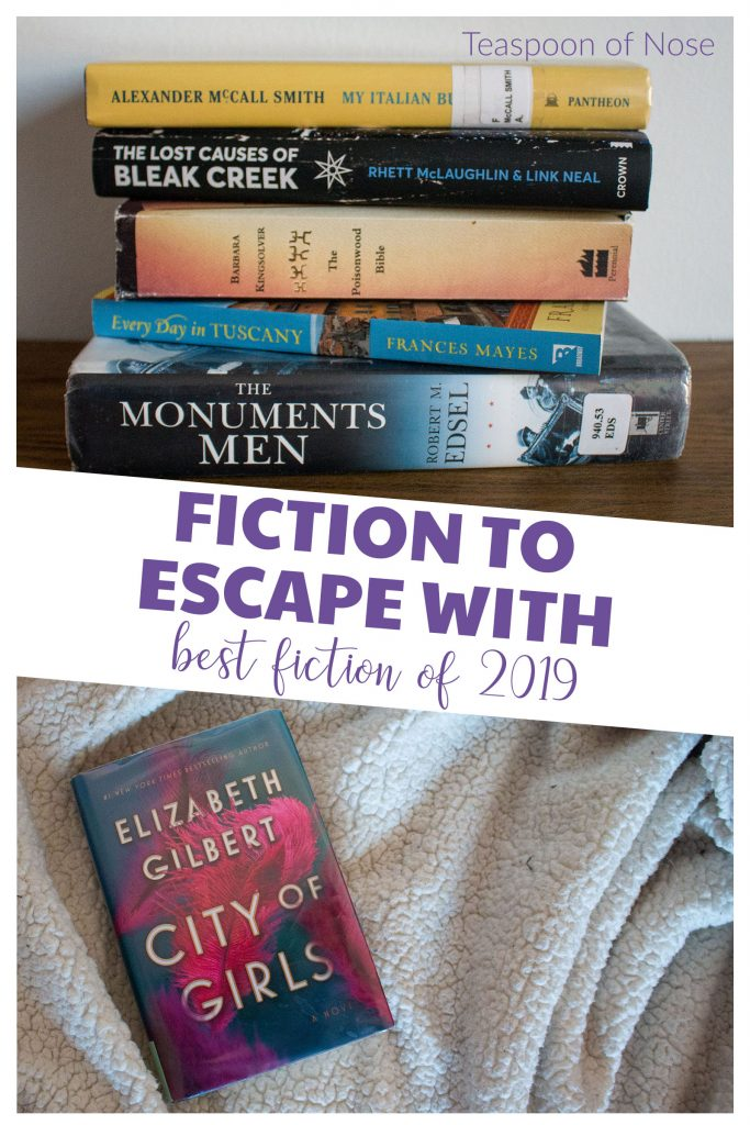 Fiction to escape with - the best reads of 2019!