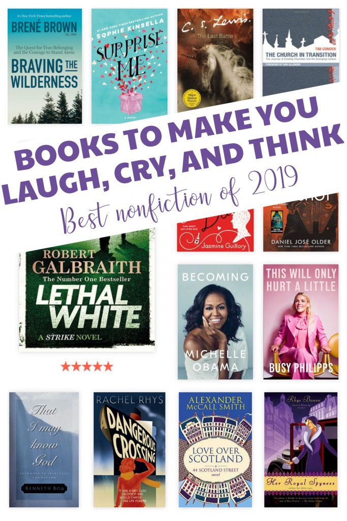 My favorite nonfiction I read in 2019!