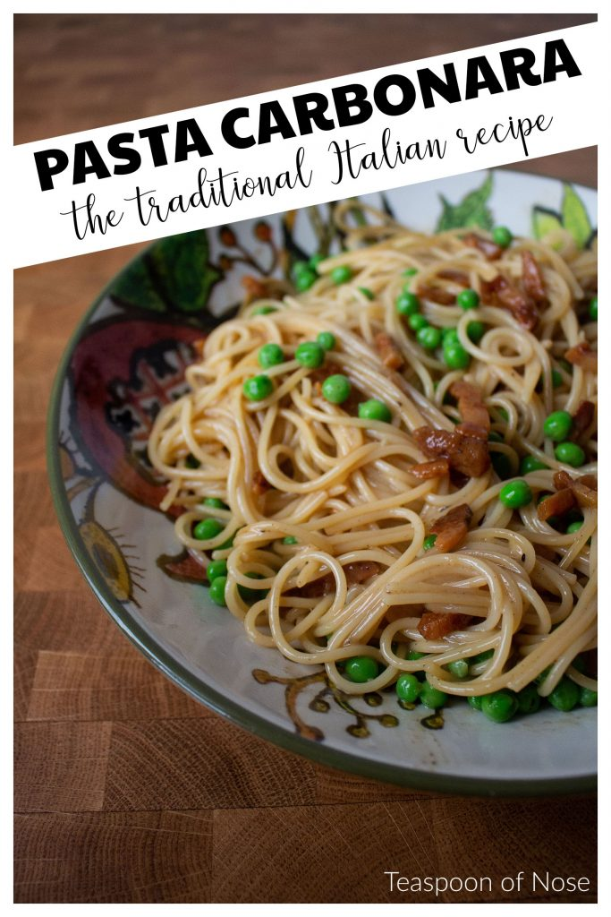 Need a last-minute meal for Valentine's Day that's both romantic and easy to make? Pasta carbonara is the perfect meal for an intimate date night in!