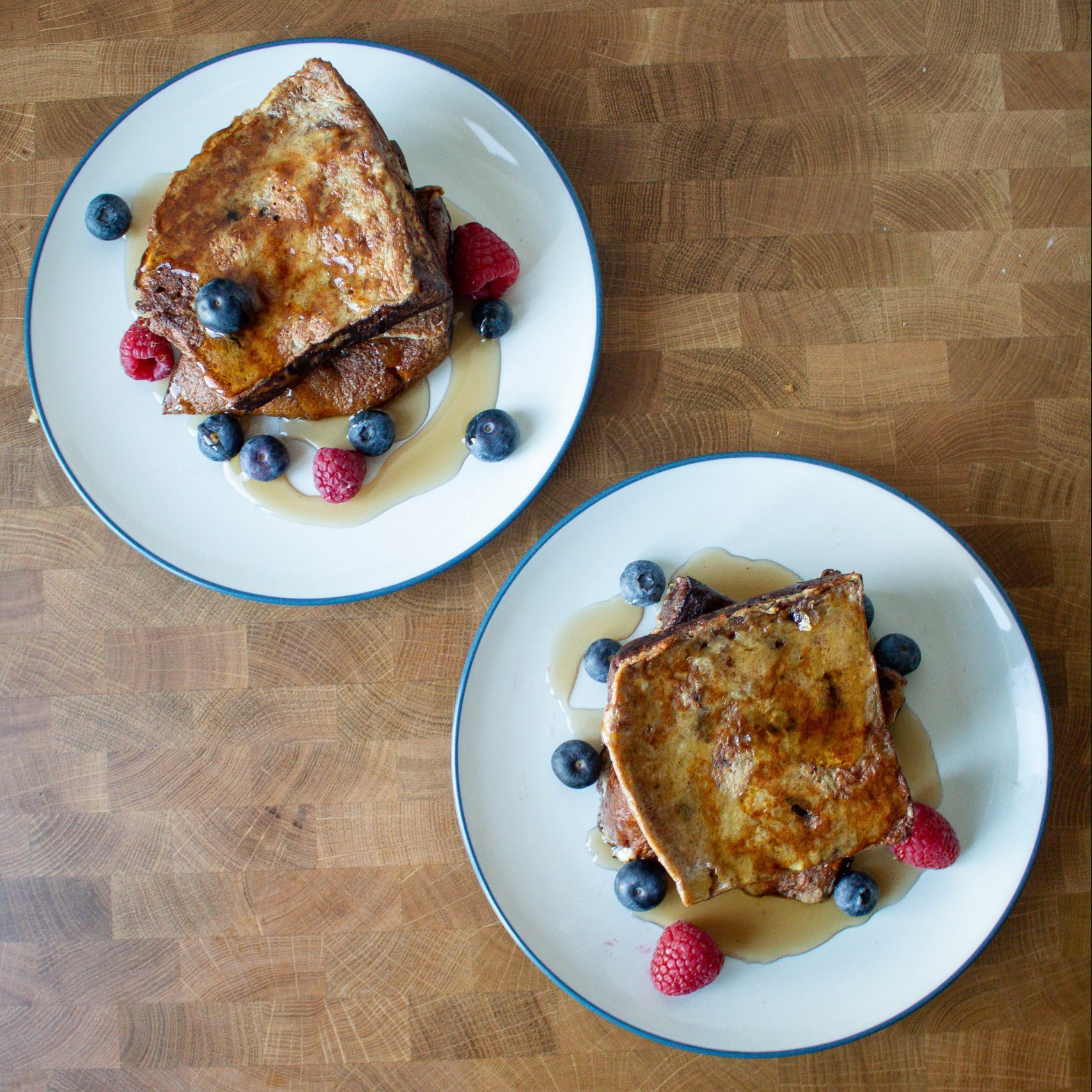 Take the classic Italian Christmas bread and crank it up a notch with panettone French toast!