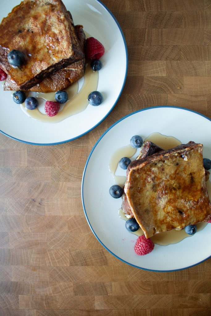 I love to jazz up classic dishes for the holidays, so panettone french toast is a favorite! It brings a holiday twist to a classic breakfast!