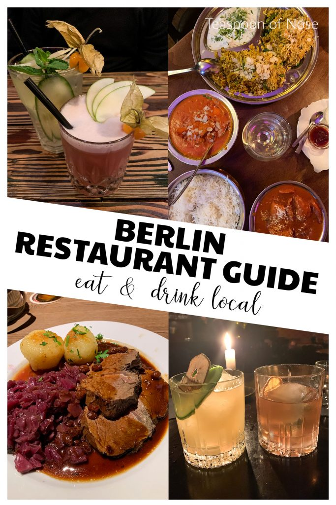 In a city with such an amazing international community, the Berlin restaurant scene has so much to offer!!
