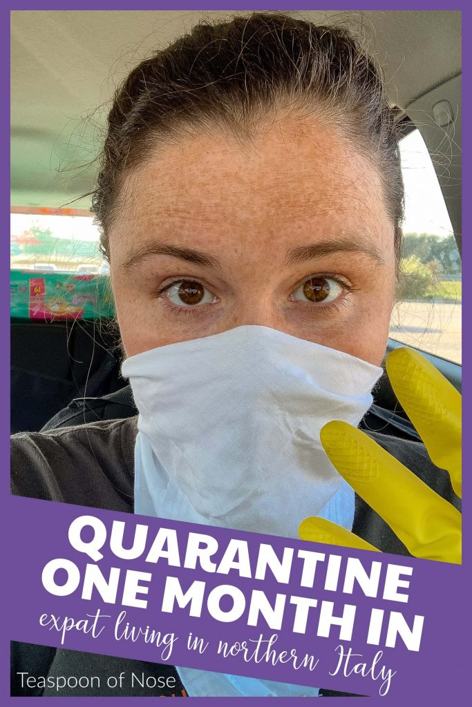 Today I wanted to share how its been living in quarantine a month in. Living in northern Italy as expats means we're experiencing...