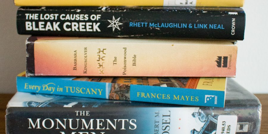 Since the summer probably means many of us have canceled travel plans, I put together my Italian reading list!