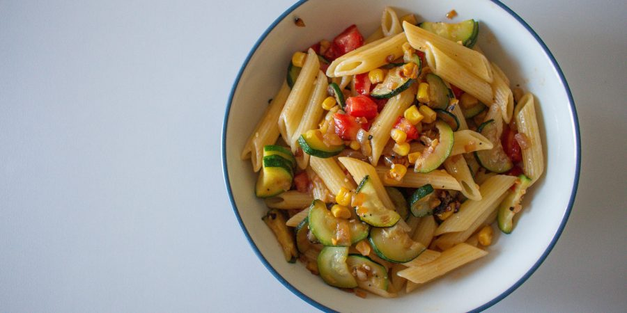 This summer pasta recipe is the fresh, healthy staple you've been looking for! It's perfect hot or cold all summer long ...