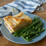 This white lasagna is a northern Italian staple! Perfect for feeding a group with minimal effort, it'll fill you up and keep you warm on a cold wet day!