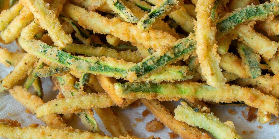 Zucchini fritte is a fun twist on the classic summer veggie! Plus, it's the perfect way to try out deep frying at home!