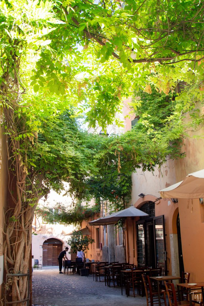 If you want the perfect balance of local feel and great food in Rome, stay in Trastevere!