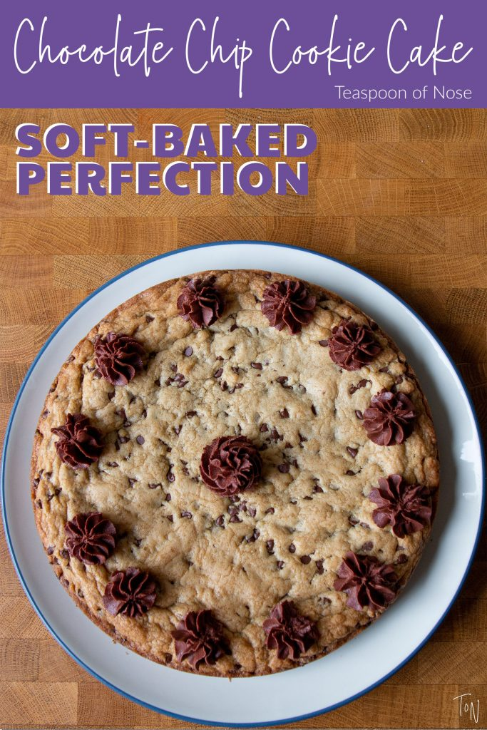 Making a classic chocolate chip cookie cake at home is crazy easy! Here's what you need to know to make your own.