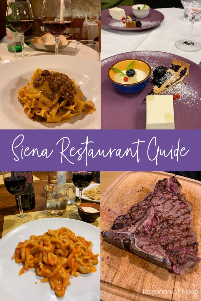 Siena, Italy is a fabulous city to explore for a day or a weekend. And a classic part of experiencing Siena restaurants!