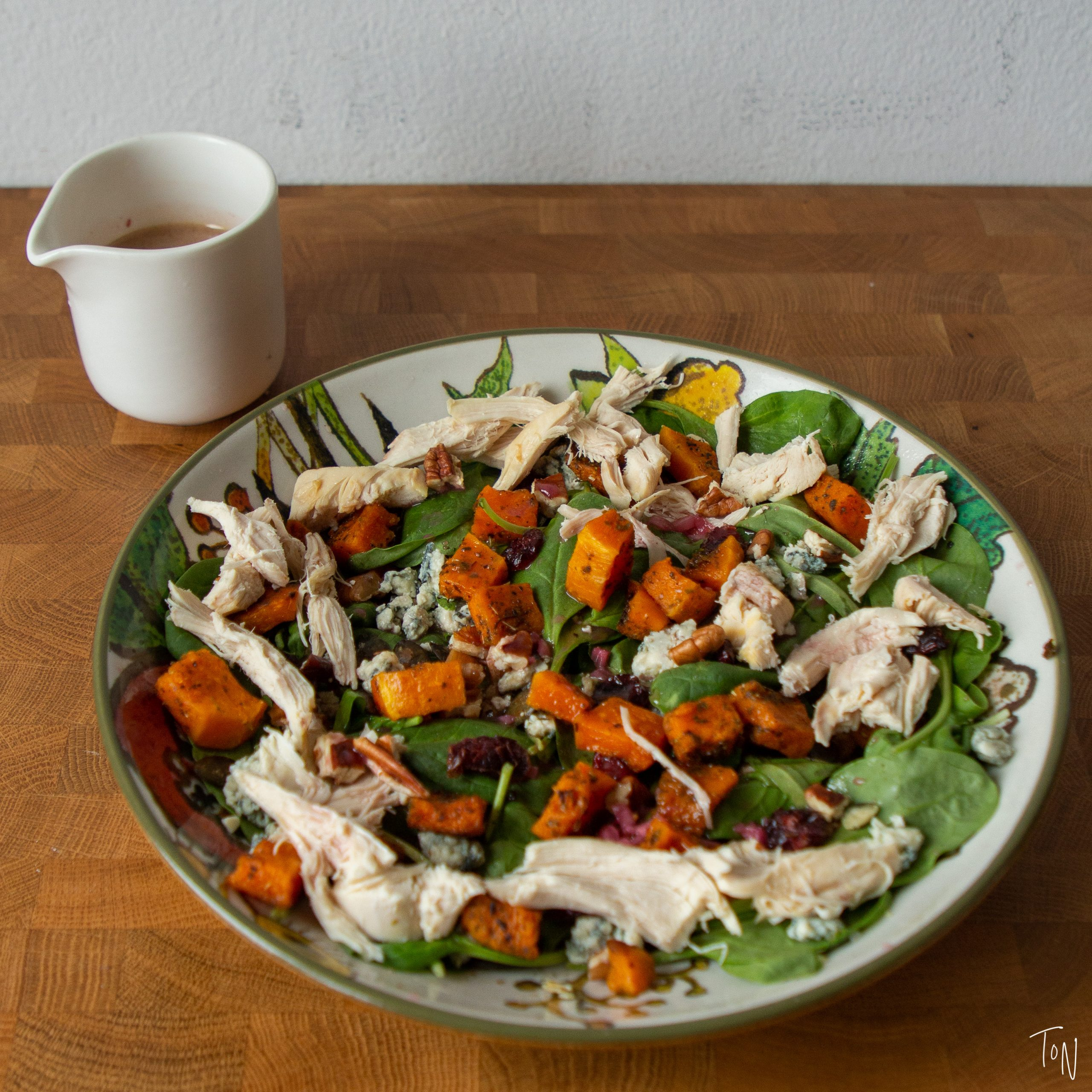 Tastes like Thanksgiving, but easy enough for weekday lunches!
