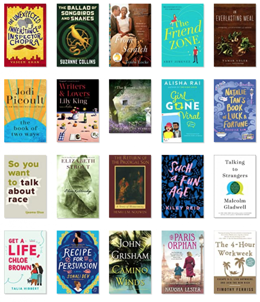 A roundup of the best fiction books of 2020 to inspire your reading list! From thrillers to romance to mystery and more...