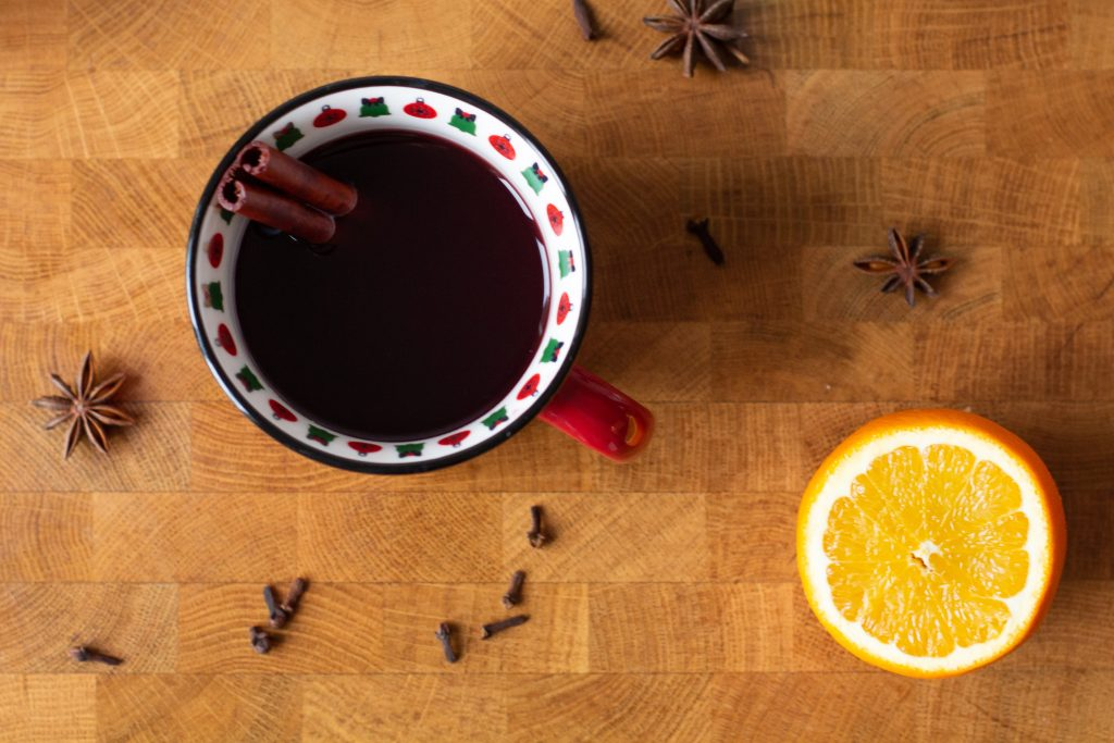 Bringing Christmas markets home with gluhwein and vin brule!
