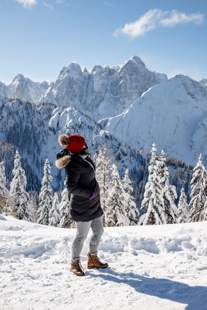 Monte Lussari looks like a postcard come to life, and makes a perfect alpine day trip! | Teaspoon of Nose